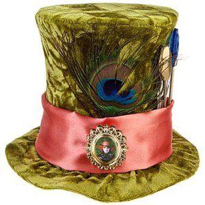 Disney Alice in Wonderland Mad Hatter Mini Top Hat